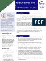 MHU Policy Brief