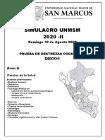 Simulacro Virtual Examen de Admision Unmsm-2020