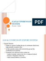 Gas & Condensate Export System