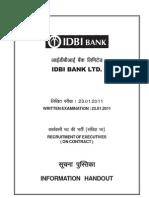 IDBI(ExeonContract)23.1.2011