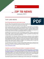 Stop TB News January 2011