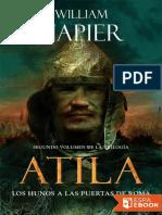 William Napier- Los hunos a las puertas de Roma (Trilogía Atila 02).epub