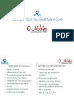 Escopo Operacional e Fluxograma Faturamneto - Estoque - Distribuição