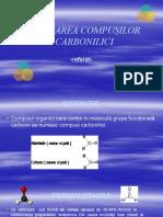 Utilizarea Compusilor Carbonilici