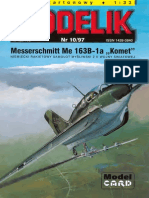 Modelik 1997.10 Messerschmitt Me-163B-1a Komet