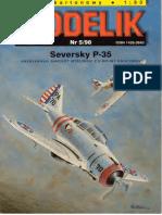 Modelik 1998.05 Seversky P-35