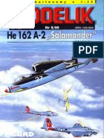 Modelik 1998.09 Heinkel He-162A-2 Salamander