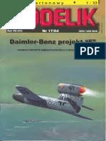 Modelik 2004.17 Daimler-Benz Projekt F