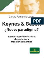Louge Carlos Fernando - Keynes Y Gessell -  Nuevo Paradigma.pdf