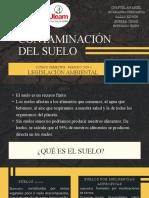 PRESENTACIÓN  LA CONTAMINACION DEL SUELO
