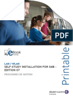 Self-Study Installation For Smb - Edition 07 DT00CTE100