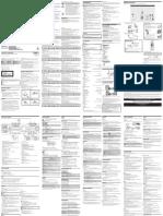 Panasonic Use manual