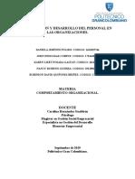 Motivación y el desarrollo personal en las organizaciones