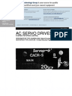 Servopack CACR-SR Manual