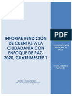 RC - Informe Rendición de cuentas con enfoque de Paz