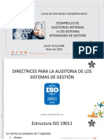 CLASE 008 - ISO 19011_GESTION