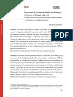 A prática de luta armada da Organización Popular Revolucionária –  33 Orientales no Uruguai (1968-1972)