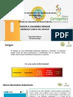 presentacion de  Dengue-Abordaje Clinico