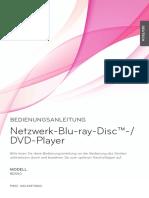 LG Blu-Ray Player BD-550_BD-550C Bedienungsanleitung