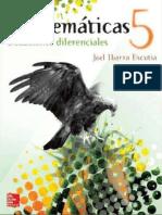 Matemáticas 5-Ecuaciones diferenciales (Joel Ibarra Escutia)