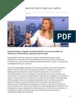 elinactual.com-Atención a la desaparición de la mujer por Laetitia Pouliquen