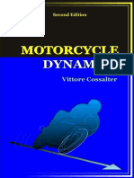 Vittore Cossalter - Motorcycle Dynamics (2006, Lulu.com)
