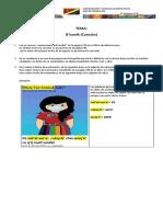 3⁰  PRIMARIA A Y B guia #14 Comunicación y Lenguaje 2 Idioma Maya