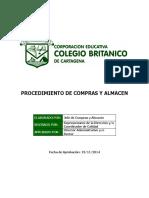 PROCEDIMIENTO DE COMPRAS Y ALMACEN