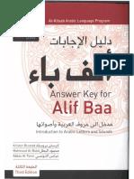Answer Key for Alif Baa, Third Edition.pdf