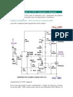Amplificador de 100W realização e diagrama.docx