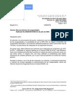 Concepto Jurídico 202011401102631 de 2020