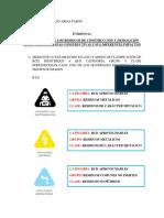EVIDENCIA CLASIFICACION DE RCD