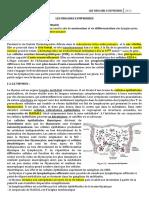 1- lES ORGANES LYMPHOIDES
