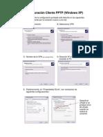 Configuracion cliente PPTP en Win XP