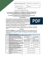 Acuerdo No. 046 del 27 de agosto de 2020 modificación calendario  2020-2 Sede Valledupar