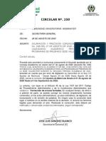 Circular 250 de 2020 - Aclaración y precisión comunicación Acuerdo 046 de 2020 CA.pdf