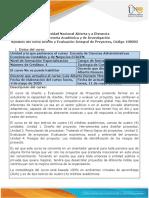 Syllabus del curso Diseño y evaluación integral de proyectos 108002