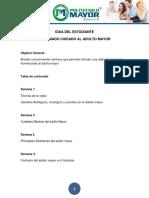 Formato Guía del Estudiante  Diplomado cuidado al adulto mayor
