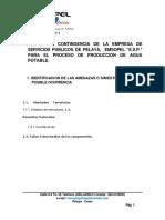 PLAN DE CONTINGENCIA ACUEDUCTO 2015