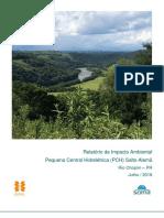 Relatório de Impacto Ambiental Pequena Central Hidrelétrica (PCH) Salto Alemã