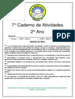 7 caderno de português atualizado 2 ano