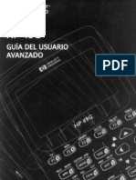 Manual calculadora HP49G avanzado