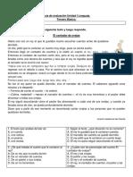 Evaluacion Unidad 1 Lenguaje