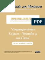 Imprimible Emparejamientos Lógicos - Animales y sus Crías 13x13.pdf