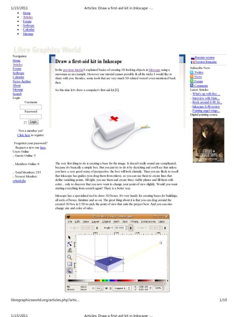 inkscape version francaise