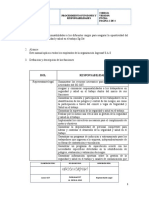 procedimiento funciones y responsabilidades