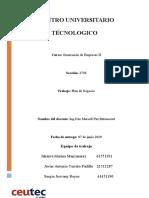 Informe I del proyecto Generación II