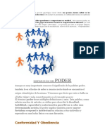 La influencia social exposicion de psicologia social y comunitaria gricelis