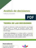 4_Análisis de decisiones