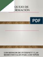 BOSQUEJO DE INFORMACIÓN